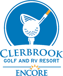 Clerbrook Golf & RV Resort Logo